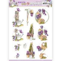 SB10532 - Uitdrukvel - Precious Marieke - Beautiful Garden - Butterfly