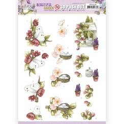 SB10534 - Uitdrukvel - Precious Marieke - Beautiful Garden - Pigeon