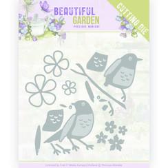 PM10206 - Mal - Precious Marieke - Beautiful Garden - Birds