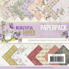 PMPP10031 - Papierpak - Precious Marieke - Beautiful Garden
