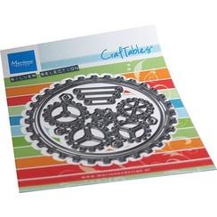 CR1548 - Gears doily
