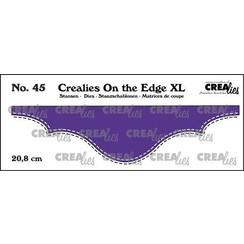 Crealies On the edge XL Die stans no 45 CLOTEXL45 20,8cm