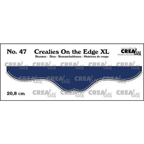 Crealies On the edge XL Die stans no 47 CLOTEXL47 20,8cm