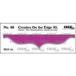 Crealies On the edge XL Die stans no 48 CLOTEXL48 20,8cm