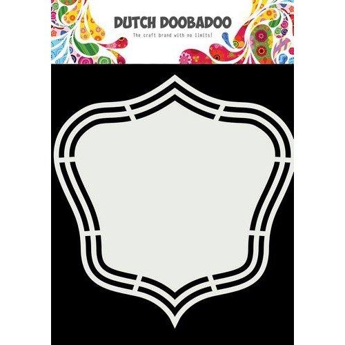 Dutch Doobadoo Dutch Shape Art Wilma A5 470.713.209 15,5x14,8cm