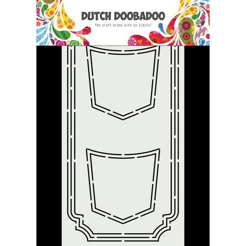 Dutch Doobadoo Dutch Card Art Slimline Jeans 470.713.870 10,5x21cm