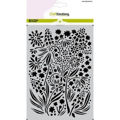 CraftEmotions Mask stencil summer flowers A5 A5 GB