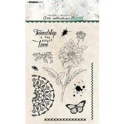 Studio Light Clear Stamp Jenines Essentials Dahlia nr.65 JMA-ES-STAMP65 A6