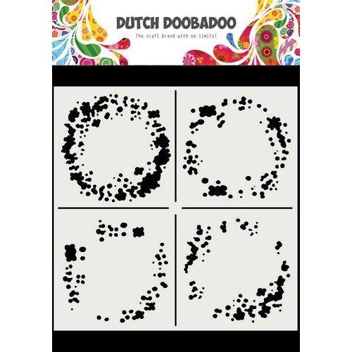Dutch Doobadoo Dutch Doobadoo Mask Art 15x15cm Circle Grunge