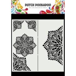 Dutch Doobadoo Dutch Mask Art Slimline Mandala