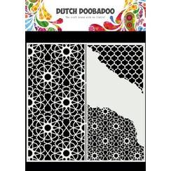 Dutch Doobadoo Dutch Mask Art Slimline Cracked Patterns