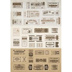Dutch Doobadoo Dutch Sticker Art A5 Tickets