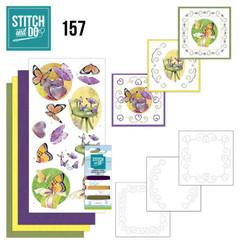 STDO157 - Stitch and Do 157 - Jeanine's Art - Butterfly Touch