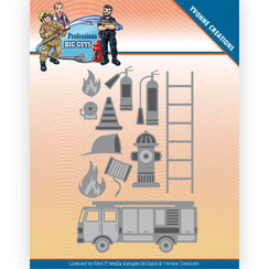 YCD10239 - Mal - Yvonne Creations - Big Guys Professions - Fire Department