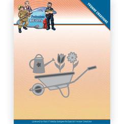 YCD10241 - Mal - Yvonne Creations - Big Guys Professions - wheelbarrow