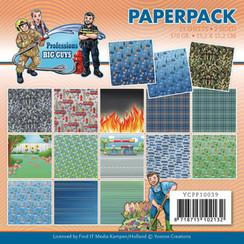 YCPP10039 - Papierpak - Yvonne Creations - Big Guys Professions