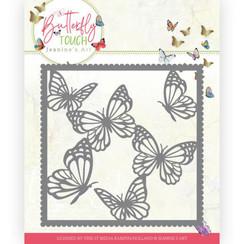 JAD10118 - Mal - Jeanines Art - Butterfly Touch - Butterfly Frame