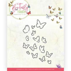 JAD10120 - Mal - Jeanines Art - Butterfly Touch - Bunch of Butterflies