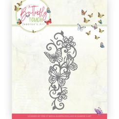 JAD10121 - Mal - Jeanines Art - Butterfly Touch - Butterfly Border