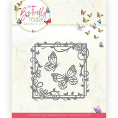 JAD10122 - Mal - Jeanines Art - Butterfly Touch - Butterfly Square