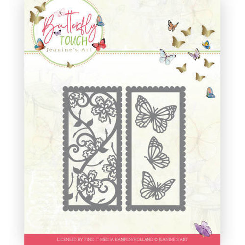 JAD10123 - Mal - Jeanines Art - Butterfly Touch - Butterfly mix and match