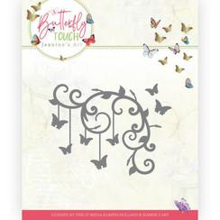 JAD10125 - Mal - Jeanines Art - Butterfly Touch - Butterfly Corner