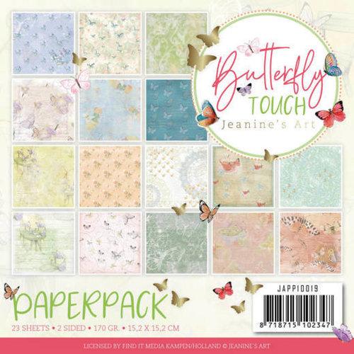 JAPP10019 - Papierpak - Jeanine's Art - Butterfly Touch