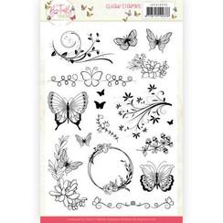 JACS10036 - Stempel - Jeanine's Art - Butterfly Touch