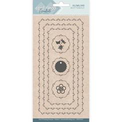 CDECD0107 - Card Deco Essentials - Slimline Dies - Slimline Butterfly