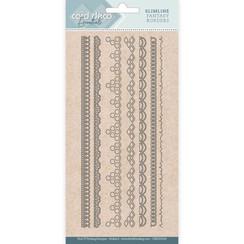 CDECD0108 - Card Deco Essentials - Slimline Dies - Slimline Fantasy Borders