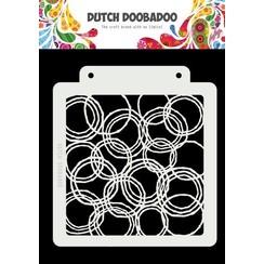 Dutch Doobadoo Dutch Mask Art Grunge Cirkels A5 470.715.179