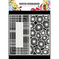Dutch Doobadoo Mask Art Slimline Cirkels - 2 470.715.826