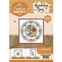 CH10015 - Creative Hobbydots 15 Jeanines Art - Humming Bees