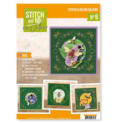 STDOOC10006 - Stitch and Do on Colour 006 - Jeanines Art - Humming Bees