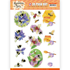 SB10557 - Uitdrukvel - Jeanines Art - Humming Bees - Honey