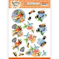 SB10558 - Uitdrukvel - Jeanines Art - Humming Bees -Bees and Bumblebee