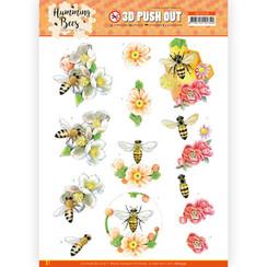 SB10559 - Uitdrukvel - Jeanines Art - Humming Bees - Bee Queen