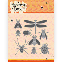 JAD10127 - Mal - Jeanines Art - Humming Bees - All Kinds of Insects