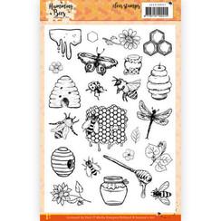 JACS10037 - Stempel - Jeanines Art - Humming Bees