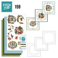 STDO159 - Stitch and Do 159 - Amy Design - History of Christmas