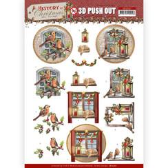 SB10567 - Uitdrukvel - Amy Design - History of Christmas - Christmas Window
