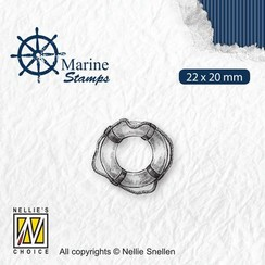 VCS003 - Nellies Choice Clearstamp - Maritime - Reddingsboei VCS003 22x20mm