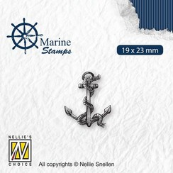 VCS004 - Nellies Choice Clearstamp - Maritime - Anker VCS004 19x23mm