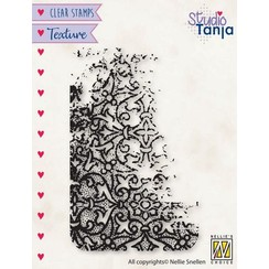 TXCS023 - Nellies Choice Clearstamp - Texture - Franse lellies TXCS023 50x80mm