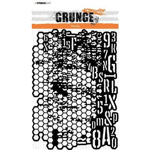 Studio Light Mask Stencil Grunge Collection nr.16 SL-GR-MASK16 A5