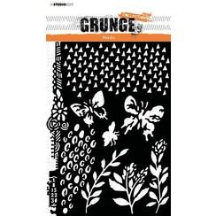 Studio Light Mask Stencil Grunge Collection nr.18 SL-GR-MASK18 A5