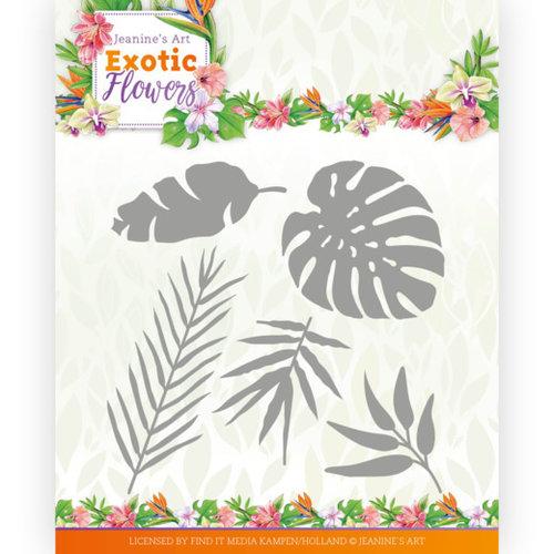 Jeanines Art JAD10132 - Mal - Jeanines Art - Exotic Flowers - Exotic Leafs