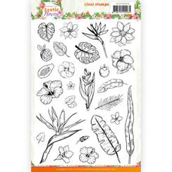 JACS10038 - Stempel - Jeanines Art - Exotic Flowers