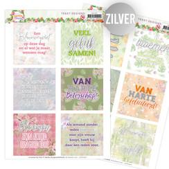 JATD1007 - 2 Uitdrukvellen - Jeanines Art - Exotic Flowers (NL)
