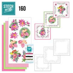 STDO160 - Stitch en Do 160 - Jeanines Art - Exotic Flowers